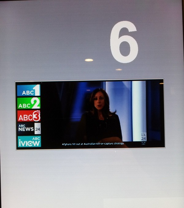 digital signage lifts